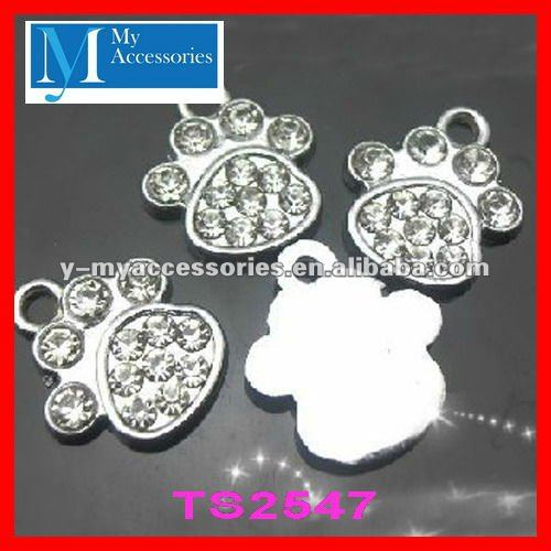 wholesale paw print charms