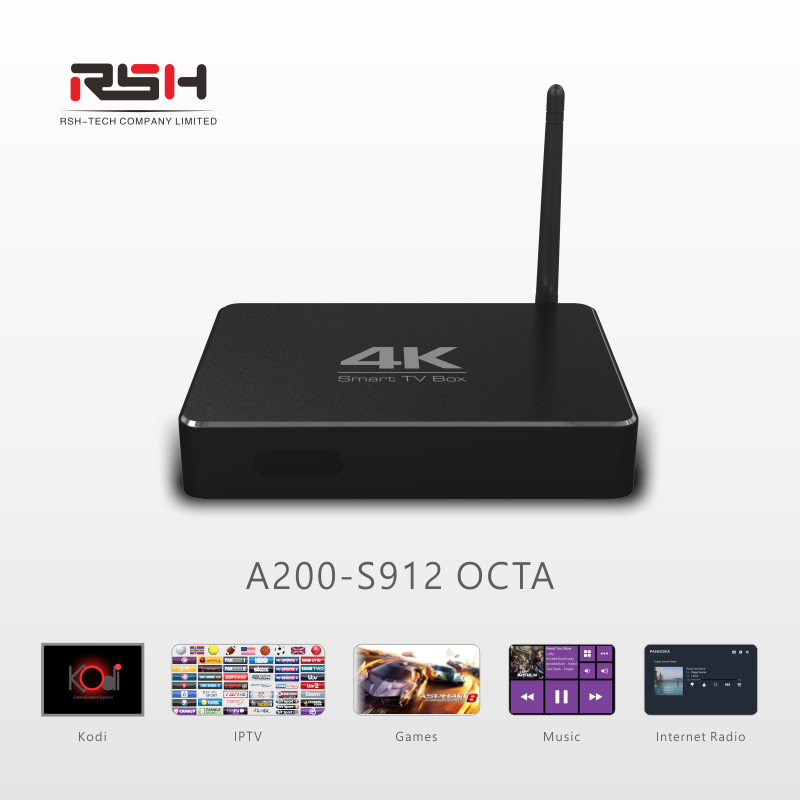 2017 Latest Amlogic S912 Octa Core 4K H.265 Smart Android 6.0 TV Box Sexy Movie Full HD Download