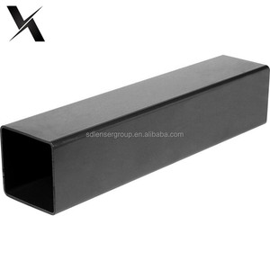 welded hot rolled black carbon Square steel pipe