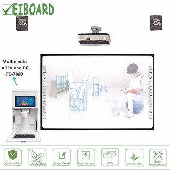 "EIBOARD 10""1 mulitmedia all-in-one pc touch screen for whiteboard"
