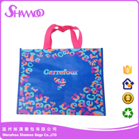 ASD2015A0012 Smart and Colourful Nonwoven handle shopping bag