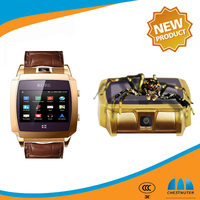 Excellent Design Quad Band GSM wrist Watch cell Phone with SIMVALLEY PW315 1.54' Capacitive Touch Screen