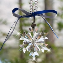 Christmas decoration crystal Snowflake ornaments for Christmas souvenir gift