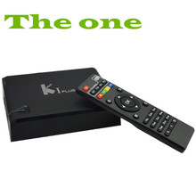 2016 new Amlogic S905 Quad Core k1 plus 4K google Android TV Box with KODI android media player smart tv