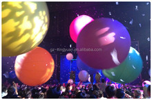 PVC inflatable interactive zygote ball, LED crowd ball for large events