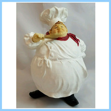 OEM/ODM China High Quality Simulation Resin Fat Chef Figurines