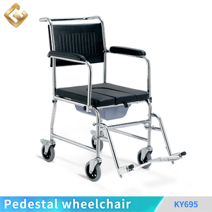 High quanlity wheelchair seat back / toilet chair comfortable commode chairs for the elderly