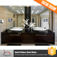 Home Double Sink Cabinet Bathroom Furniture