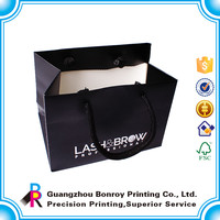 Smart shopping paper bag