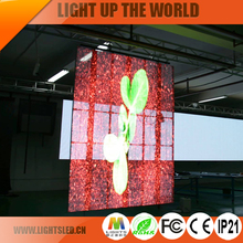 LightS outdoor wholesaler flexible LED mesh/ P10 LED curtain display for stage