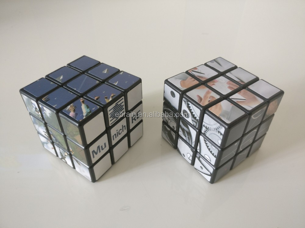 Promotional Plastic High Speed Magic cube.