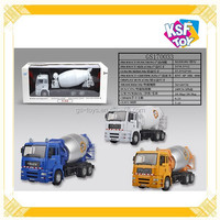 1:32 Die-cast Car, F/W Die-cast Mixer Truck, Construction Car