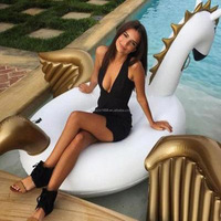 250CM Gigantic Swim Wings Floating Inflatable Pegasus Pool Float Pvc Swim Animal Toys For Adult Water Play