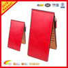 simulated leather pvc leaher women's bifold multi card case bulk card holder thin wallet with zipper pocket