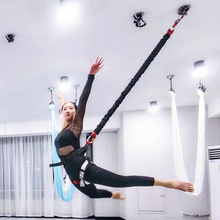 2018 Hot! High Strength Bungee Cord Bungee Jump Full Set For Sale New Anti Gravity Yoga Equipment 100% Quality Guarantee