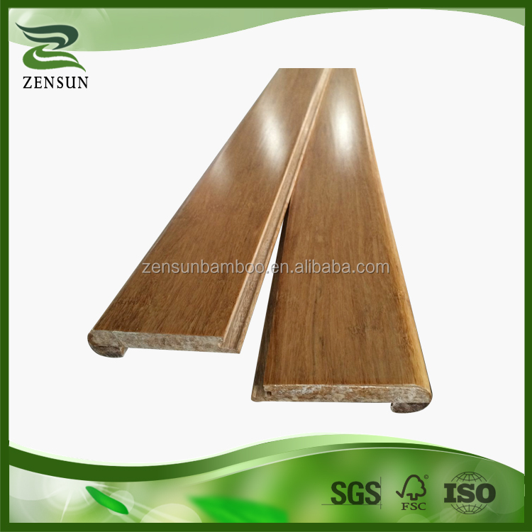 2016 High quality flexible feature eco forest bamboo stair nosing
