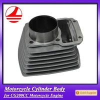 cheap price motorcycle parts CG200CC cylinder block chinese electric motorcycle