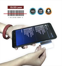 hot sale indusrial tablet pc barcode scanner and 13.56mhz rfid reader