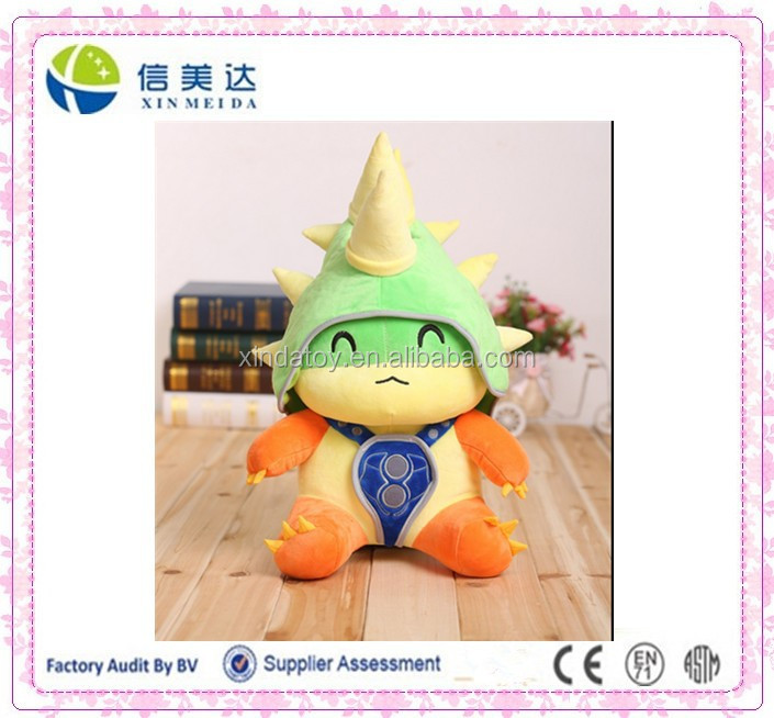 League of legends LOL teemo plush toy,LOL Rammus plush toy