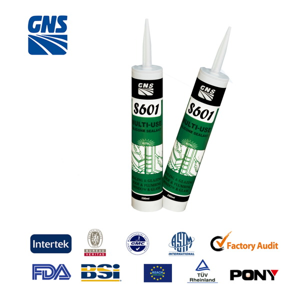silicone sealant for wood/ acetic cure silicone sealant clear
