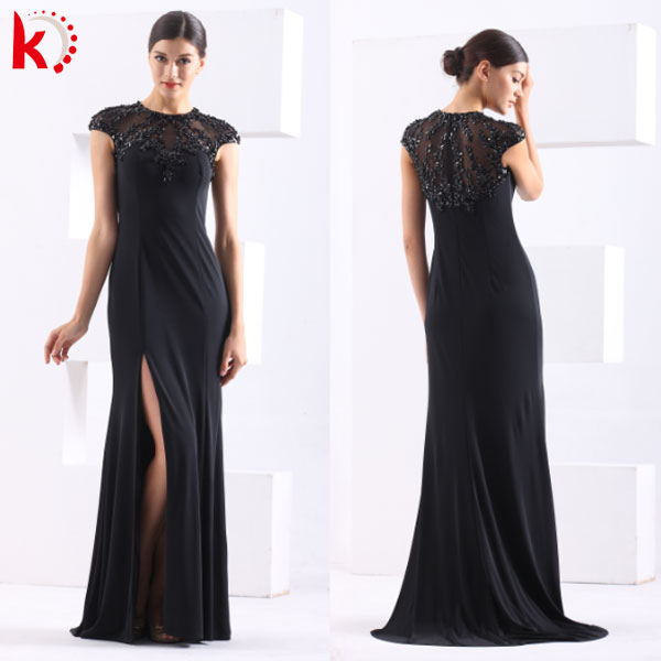 Latest dress pattern 2014 new fashion wholesale sexy evening dress 2014 new model epm0003 sexy chiffon evening dress