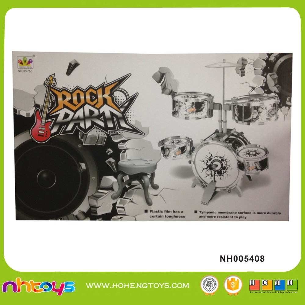 Rock Party drum set toy musical instruments for kids