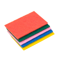Chinese orignal sponge scourer,Nylon mix Polyester Scouring Pad,Compressed Melamine Sponge Scouring