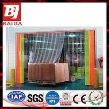 Clear Blue Tint Colorful Standard PVC Welding Folding Door Curtain
