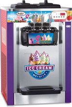 ice cream machine soft serve ice cream machine smallest small home use & commercial use table top counter top