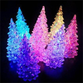 Promotions Colorful christmas tree small night light