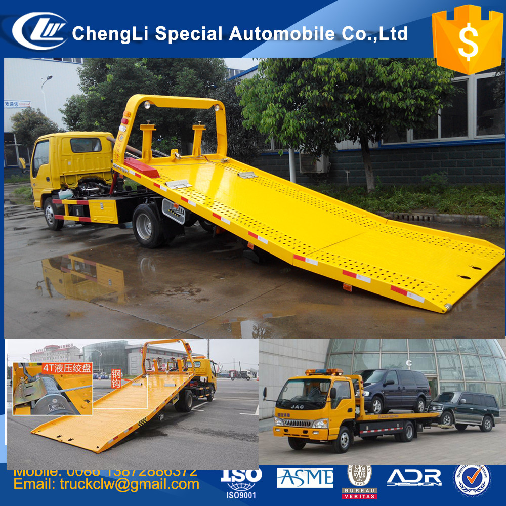 Japan brand 600P 700P High quality 4x2 Flatbed Wrecker Tow Truck New Rescue standby Wrecker towing 4 ton Off road vehicle