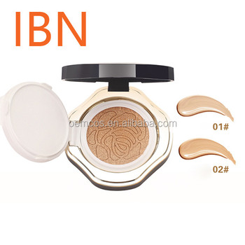 Men's air cushion BB Cream 15g+Refill Moisturizing CC Cream Concealer liquid cream