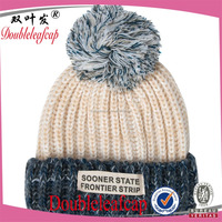 Hot sale Beautiful Girl fancy knitted winter hats caps wholesale now