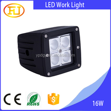 1360LM 4x4 3inch 16w work light led for truck jeep motorcycle