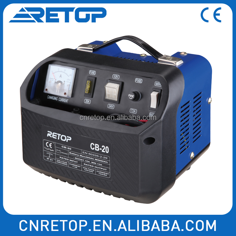 Intelligent Truck Battery Charger& Starter CB-15