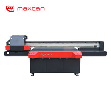 Maxcan digital printing machine led uv flatbed printer for glass with Ricoh Gen5 head