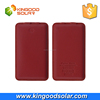 2016 Cheap premium gift 8000mah leather portable power bank for laptop