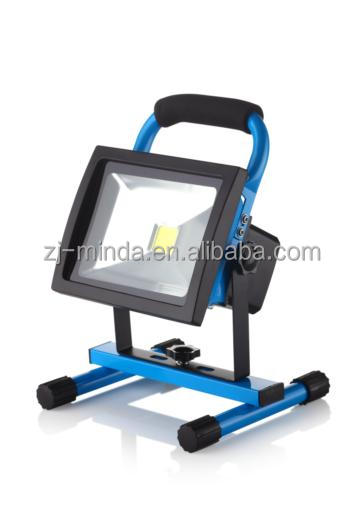 MINDA factory BEST SELL MODEL (ROHS)20W rechargeable flood light professional emergency appliance producer