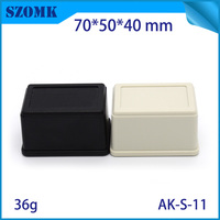 2016 High quality Black color abs plastic material strong enough unversal electron instrument enclosur
