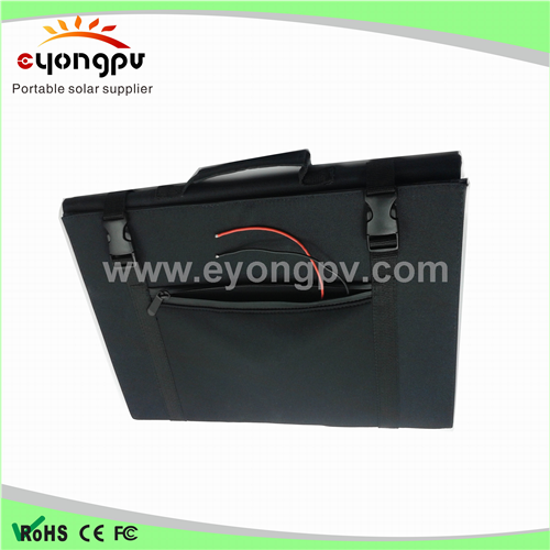 factory price 100w 20v foldable solar panel with USB