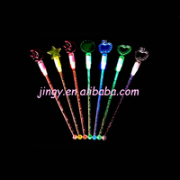 clear and transparent with bubble acrylic atmosphere colorful rod bar