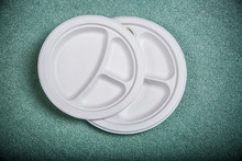 sugarcane bagasse biodegradable catering plates and dishes with high quality