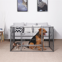 2018 Songmics New Design Pet Playpen Steel Wire Dog play Fence