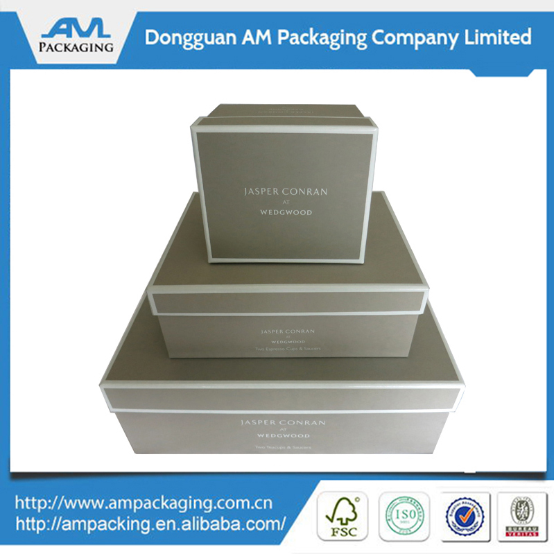 High Quality Packaging Gift Box Shoe With Lid Custom Manufacturer in Dongguan