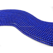 Blue Gold Powder Seed Glass Beads Baking Varnish Glass Beads Larmpwork Glass Beads For Brooch