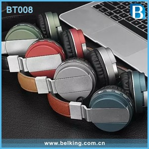 Hot Selling BT008 Foldable Wireless Bluetooth Headphone With Mic Bests Audio Headset for Mobilephone, PC and MP3