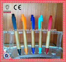 2013 fashion eco-friendly bamboo ball pen for promotion