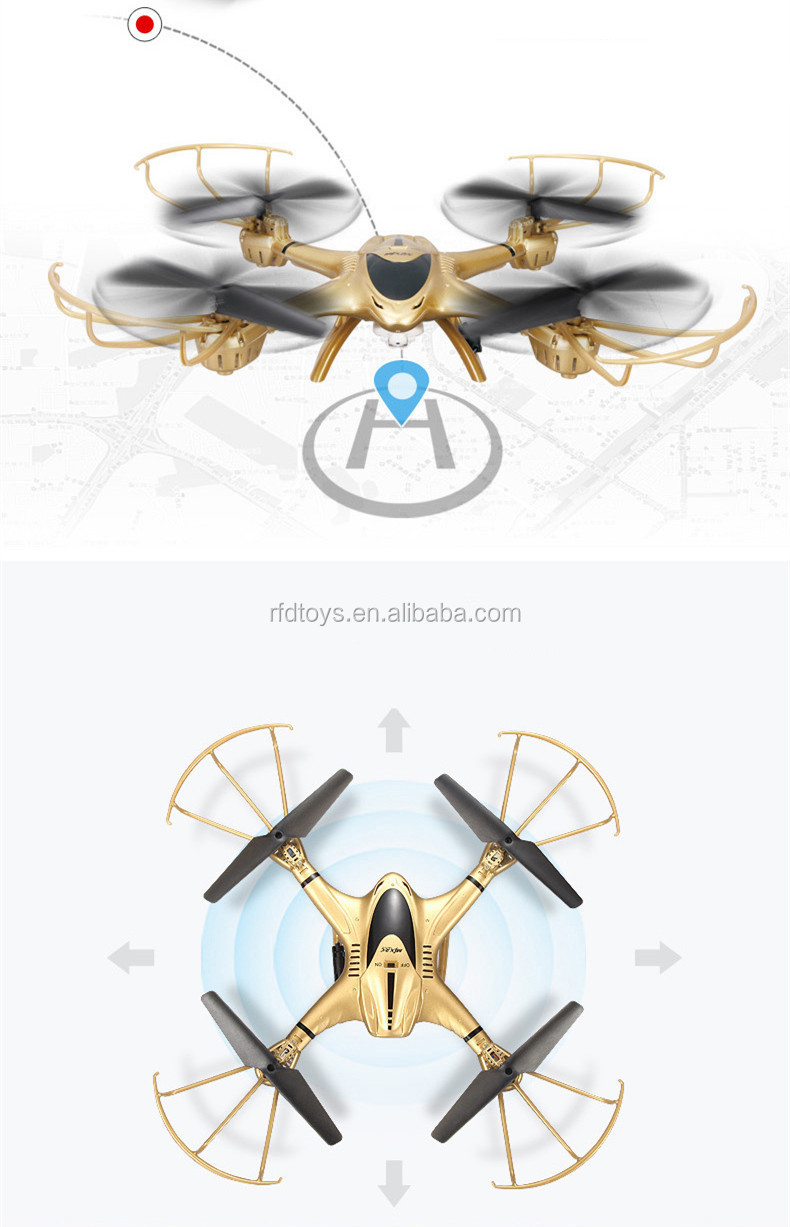 FPV real real time transmission 2.4G 4ch quadcopter headless mode drone aircraft model