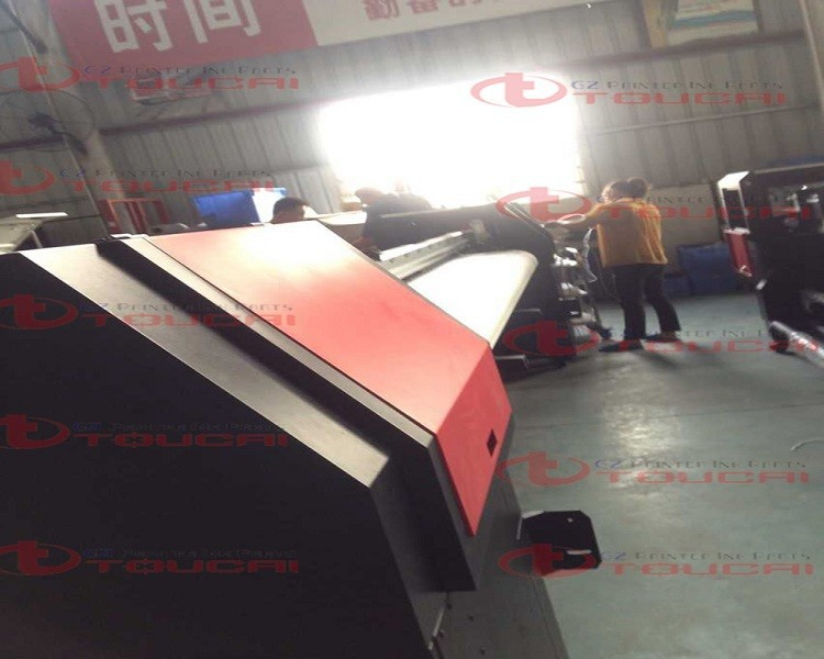 China new brand 3.2m large solvent printer machine with spt head