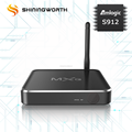 Hot selling 4K Octa Core KODI Wifi s912/S912/s912 TV Box